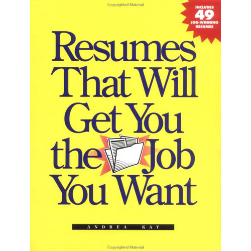 book cover - Best Resumes Ever