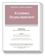 A Contract. Do you need one?